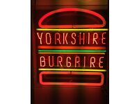 Chef Position @ Yorkshire Burgaire Company