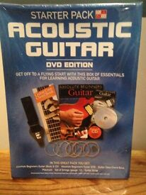 Acoustic Guitar Starter Pack in a Box