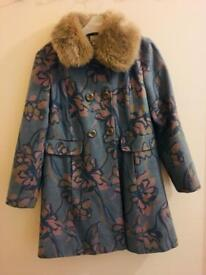 Monsoon girls coat 9-10 yrs