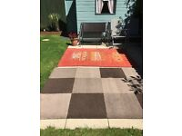 2 Large Rugs for sale
