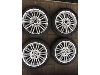 """Mini 17"""" alloy wheels & tyres f56 2015 - onwards"""