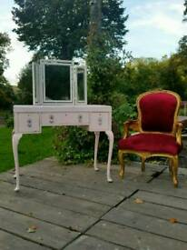 Shabby Chic French Style Dressing Table