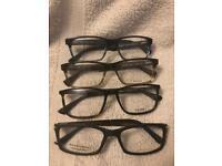 Designer framed glasses