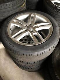 "Audi 18"" Alloy Wheels (Perfect, Great Tyres)"