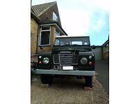 1972 Land Rover Series 3 - Full re-build - Excellent condition