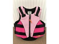 Kids equestrian protection vest