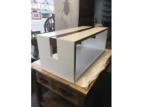 White Coffee Table, Bespoke Hand Made contemporary Coffee Table