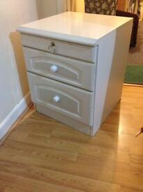 Cupboard / Chest Draw - White colour decent