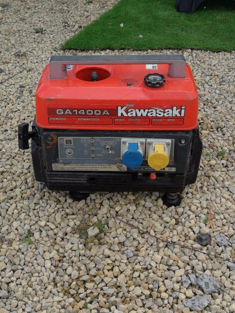 Kawasaki generator