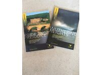 York Notes - Pride and Prejudice and Wuthering Heights