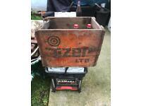 Vintage Tizer crate