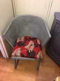Pretty vintage chair upcycled