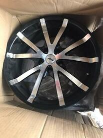 "Set of TSW 17"" alloys plus one new !!!!"