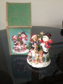Christmas Wind-up Musical ornament