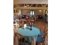 Responsible help required at Coffee Shop / Tea House, Ramster, Chiddingfold, to start ASAP!
