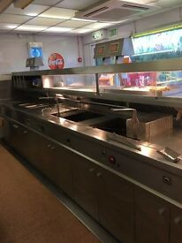 Chipshop Frying Range