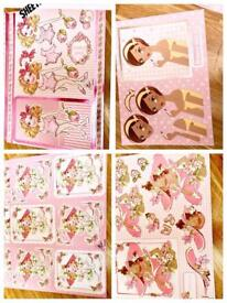 Decoupage 45 sheets of ready die cut beautiful designees on quality card for card making