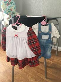 6-9 months baby girls clothes