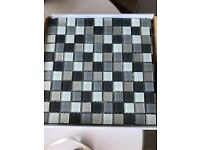 9 Sheets of 30x30cm x 8mm Thick Mosaic Tiles