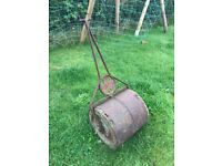 Antique Lawn Roller. Restored would make a nice feature piece. heavy.
