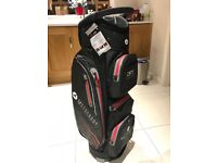 Motorcady dey series cart bag - Black/red NEW