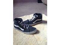 Vans Sk8-Hi shoes £25 (RRP£60). Perfect condition.