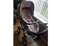Silver Cross pram and accessories
