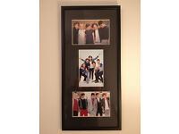 Framed photo of One Direction