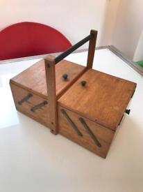 Fabulous little vintage wooden box