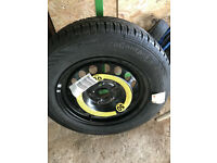 Complete kit Spare Wheel c/w Jack for Skoda Octavia