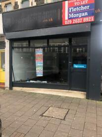 Commercial shop in Albany Road,Cardiff