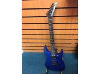 Jackson Blue Electric Guitar