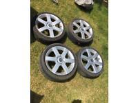 Wolfrace 17 inch alloys