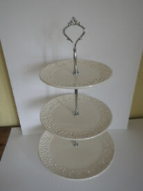 Wedding - Cake stands - £80 for all 9 or £12 each