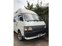 1994 Toyota hi ace 4WD 4 berth high top camper Now Sold