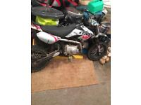 110cc stomp pit bike good condition rides lovely