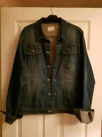 Denim Jacket Size 20 - Brand New, tags removed
