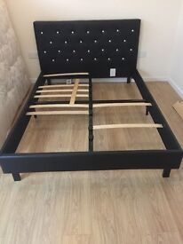 Double bed including mattress less than 4 months old!!