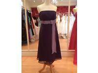 Purple dress size 8