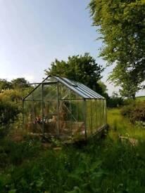 Greenhouse 8 x 10ft (Glass)