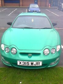 hyundai coupe 1.6 manual.11 month mot,loads of history.low miles ,very cheap runabout 37mpg average