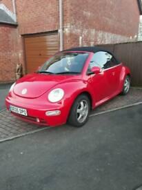 Vw Beetle convertible 1.9 tdi