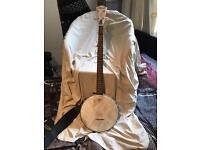 Banjo + hard case (£100)