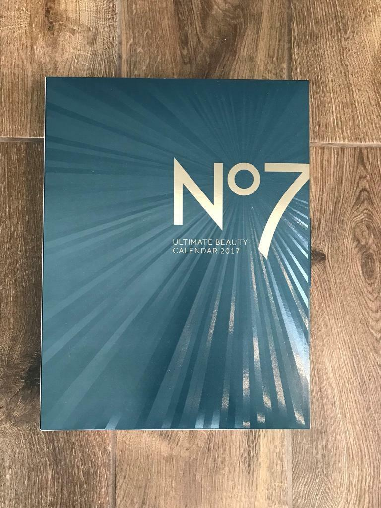 No7 ULTIMATE Beauty Advent Calendar 2017 Gifts worth up to £160 *SOLD OUT*
