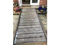 Garden Decking Ramp