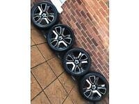 "5x120 20"" Rare PDW Transformer alloy wheels VW T5 BMW 3 5 7 series Vauxhall Insignia"