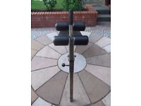 Heavy duty sit up / exercise bench