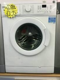 BEKO 7KG 1200 SPIN WASHING MACHINE IN WHITE