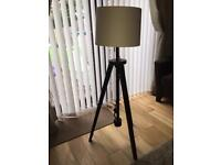 IKEA Lauters Tripod Floor Lamp with Shade