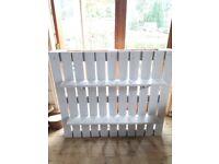 Vintage wooden pallet shelves - ideal for wedding/home furniture